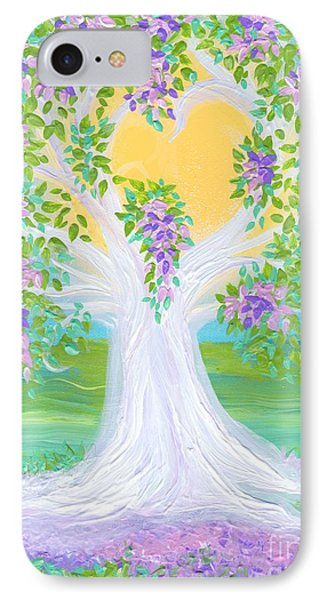 Bride's Tree Purple Phone Case by First Star Art