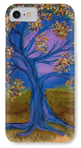 Bridesmaid Tree Blue Phone Case by First Star Art