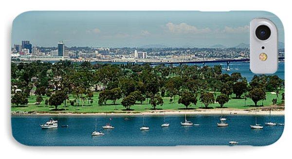 Bridge Across A Bay, Coronado Bridge IPhone Case by Panoramic Images