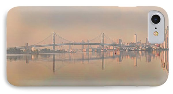 Bridge Across A River, Benjamin IPhone Case