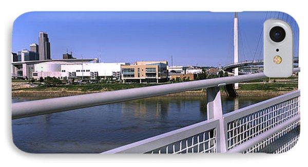 Bridge Across A River, Bob Kerrey IPhone Case