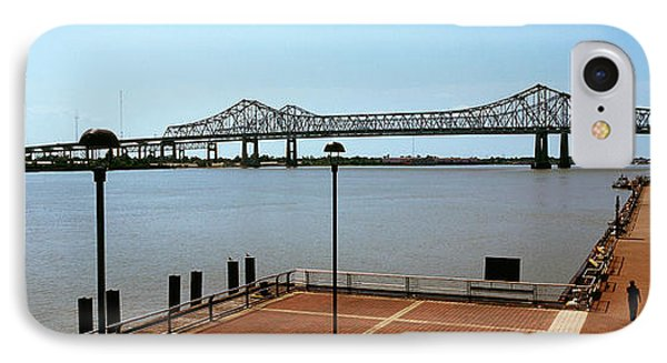 Bridge Across A River, Crescent City IPhone Case by Panoramic Images