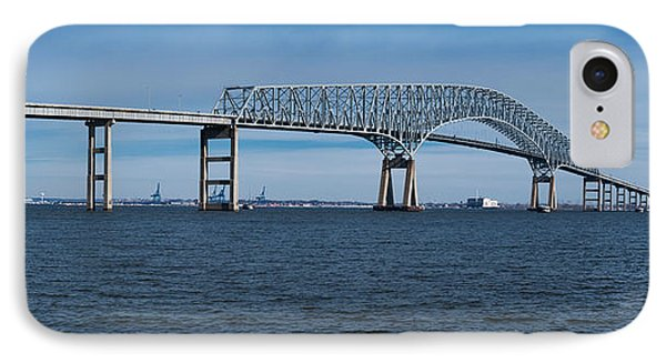 Bridge Across A River, Francis Scott IPhone Case by Panoramic Images