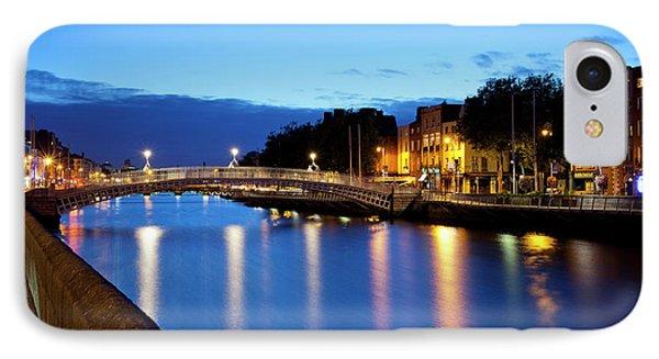 Bridge Across A River, Hapenny Bridge IPhone Case