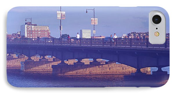 Bridge Across A River, Longfellow IPhone Case by Panoramic Images