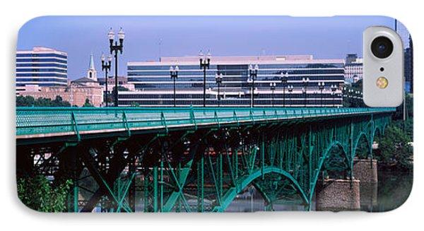 Bridge Across River, Gay Street Bridge IPhone Case