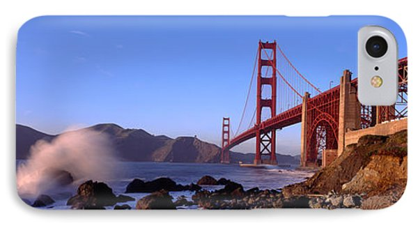 Bridge Across The Bay, San Francisco IPhone Case by Panoramic Images