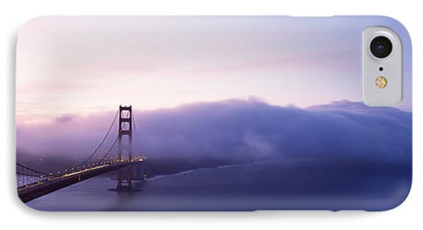 Bridge Across The Sea, Golden Gate IPhone Case by Panoramic Images