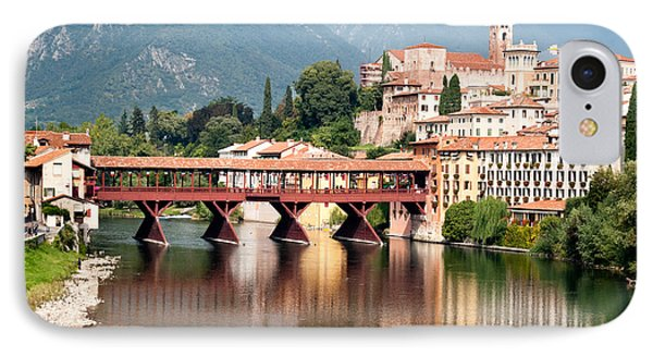 Bridge At Bassano Del Grappa IPhone Case