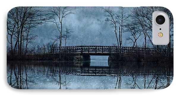 Bridge At Chocorua IPhone Case by Sharon Seaward