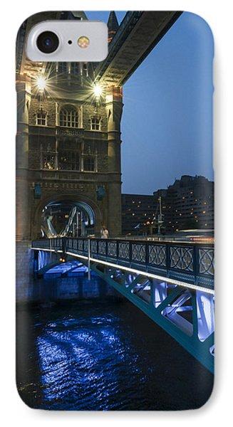 Bridge At Night Phone Case by Svetlana Sewell