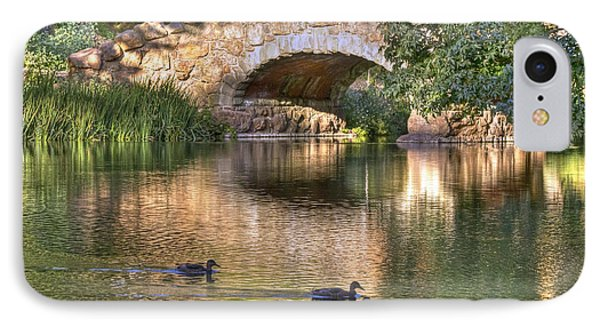 IPhone Case featuring the photograph Bridge At Stow Lake by Kate Brown