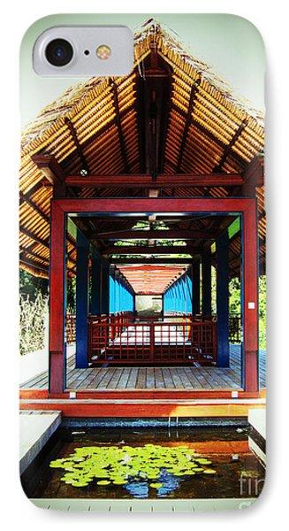 Bridge At Ubud IPhone Case by Marguerita Tan