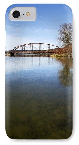 Bridge At Upper Lisle Phone Case by Christina Rollo