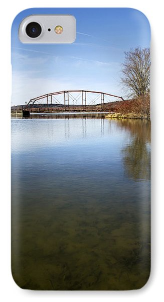 IPhone Case featuring the photograph Bridge At Upper Lisle by Christina Rollo