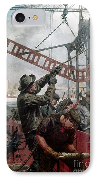 Bridge Construction 1909 Phone Case by Granger