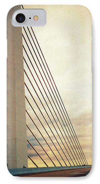 Bridge Crossing The River IPhone Case by Patricia Januszkiewicz
