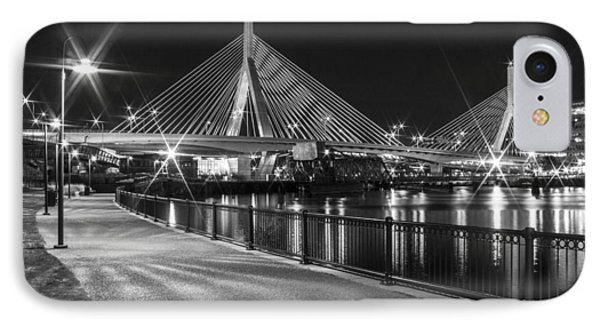 Bridge In Boston IPhone Case by John McGraw