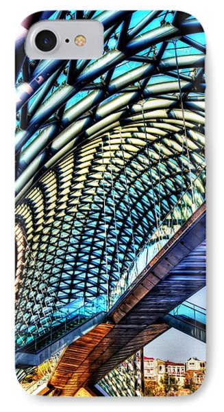 Bridge In The Air IPhone Case by Yury Bashkin