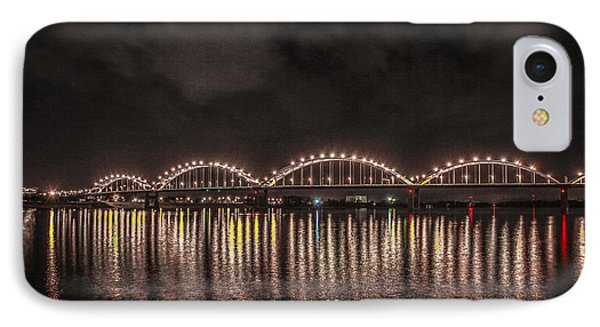 Bridge Lights IPhone Case by Ray Congrove