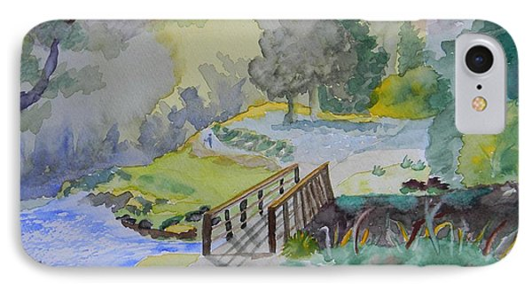 Bridge Near Enniskerry Ireland  IPhone Case by Warren Thompson