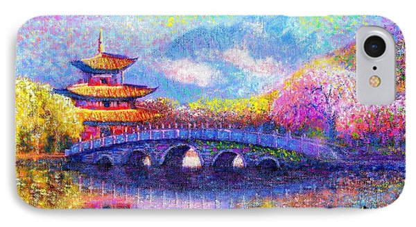 Bridge Of Dreams IPhone Case by Jane Small
