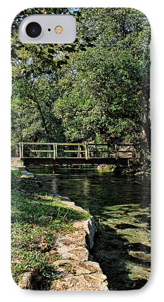 Bridge Of Serenity IPhone Case by Judy Vincent