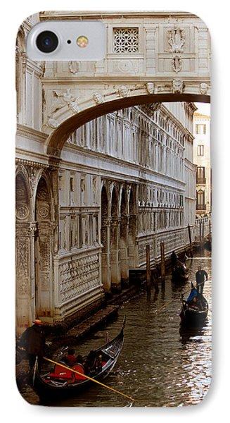 Bridge Of Sighs Venice Phone Case by Cedric Darrigrand