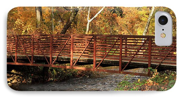 Bridge On Big Chico Creek IPhone Case
