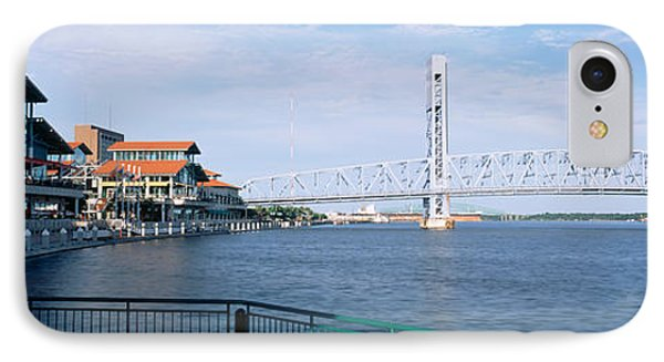 Bridge Over A River, Main Street, St IPhone Case by Panoramic Images