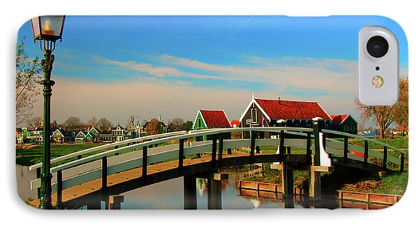 IPhone Case featuring the photograph Bridge Over Calm Waters by Jonah  Anderson