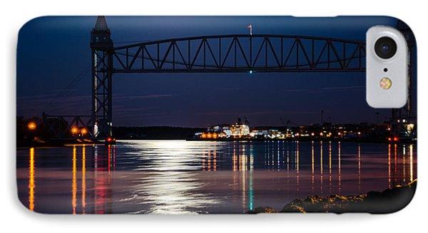 Bridge Over Moonlit Water IPhone Case