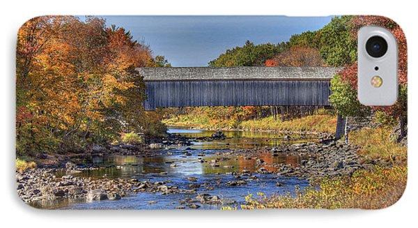 Bridge Over Piscataquis River IPhone Case