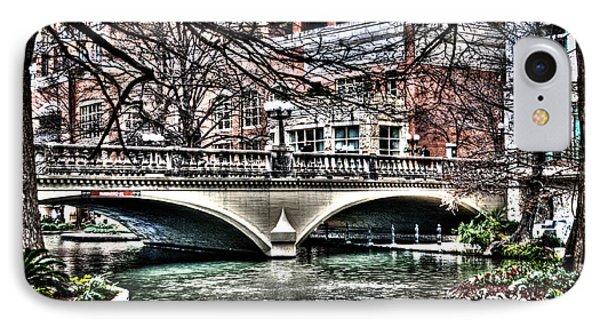 IPhone Case featuring the photograph Bridge Over San Antonio River by Deborah Klubertanz