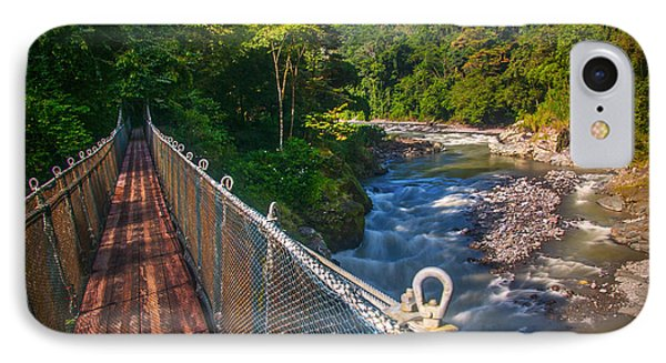 Bridge Over The Pacuare IPhone Case