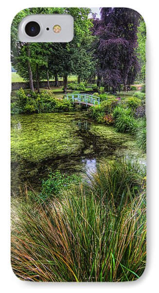 Bridge Over The Pond Phone Case by Ian Mitchell