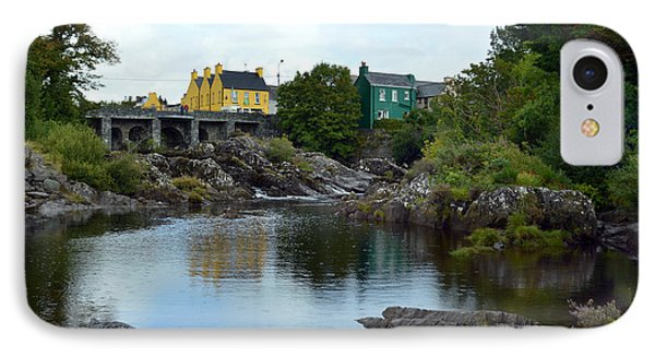 Bridge Over The River Sneem. IPhone Case by Terence Davis