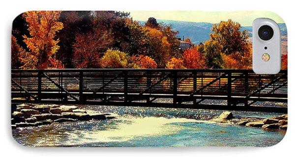 Bridge Over The Truckee River IPhone Case by Bobbee Rickard