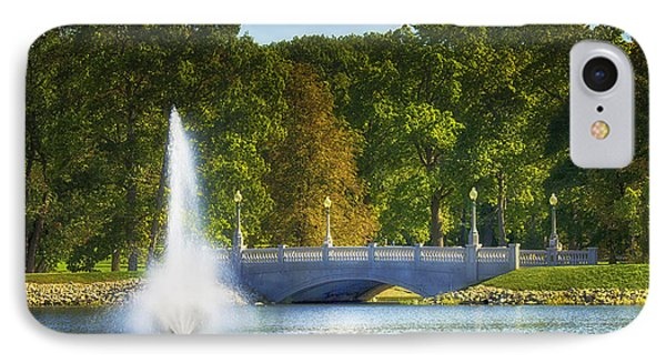 Bridge Over Troubled Waters IPhone Case by Skip Tribby