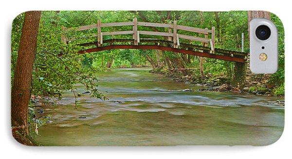 Bridge Over Valley Creek IPhone Case