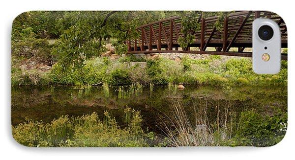 Bridge Over Wetlands IPhone Case