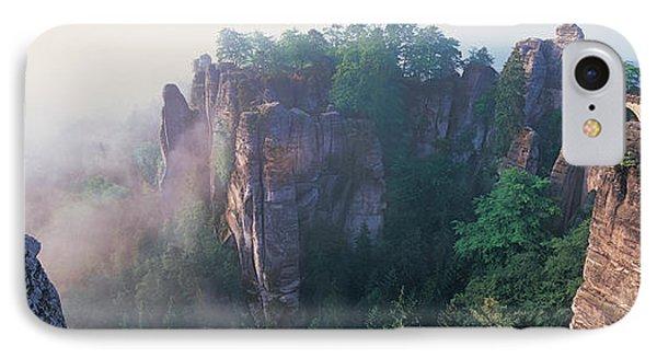 Bridge Passing Through Cliffs, Bastei IPhone Case