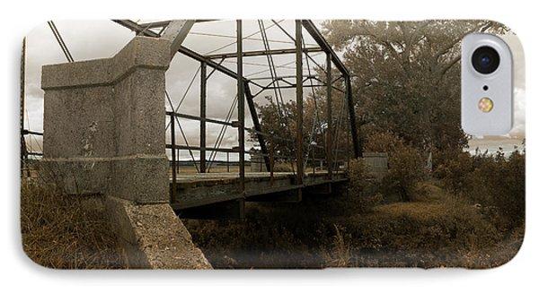 Bridge To Nowhere IPhone Case by Rebecca Davis