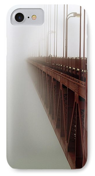 Bridge To Obscurity IPhone Case by Bill Gallagher