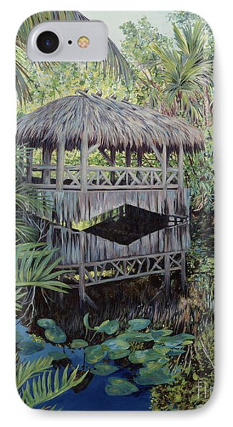 Bridge To Paradise IPhone Case by Danielle  Perry