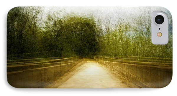 Bridge To The Invisible IPhone Case by Scott Norris