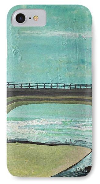 Bridge Where Waters Meet Phone Case by Joseph Demaree