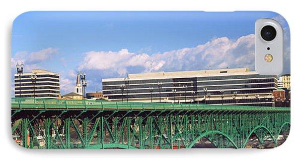 Bridge With Buildings IPhone Case