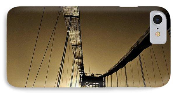 Bridge Work IPhone Case by Robert Geary