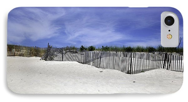 Bridgehampton Beach - Fences IPhone Case by Madeline Ellis
